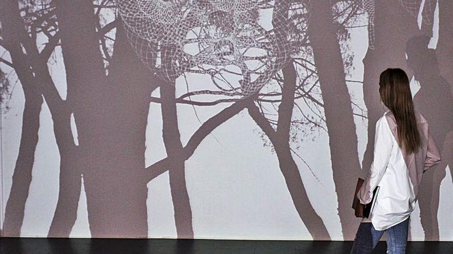 Javier Riera muestra en Gijón sus intervenciones lumínicas sobre el paisaje