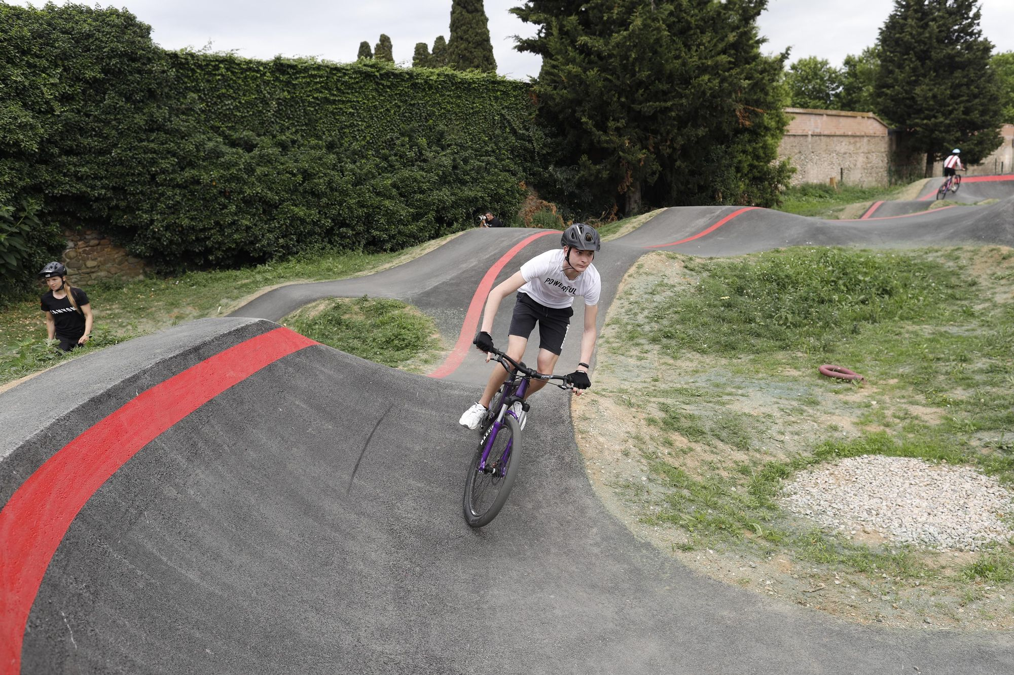 Pump Truck de Salt: el circuit per a bicicletes i patins més gran de Catalunya