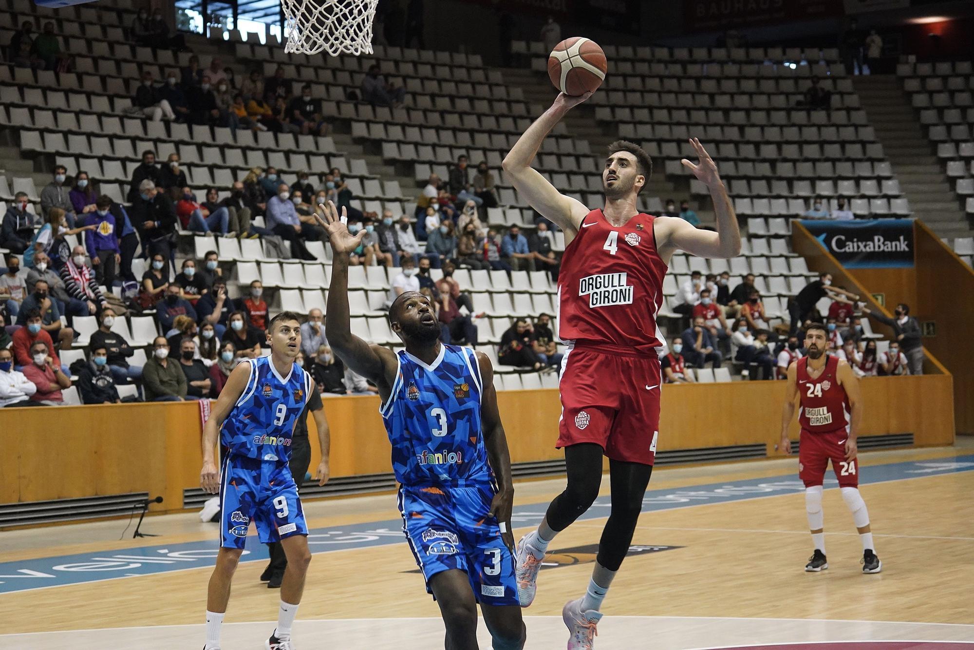 Un desencertat Bàsquet Girona perd a casa contra l'Almansa
