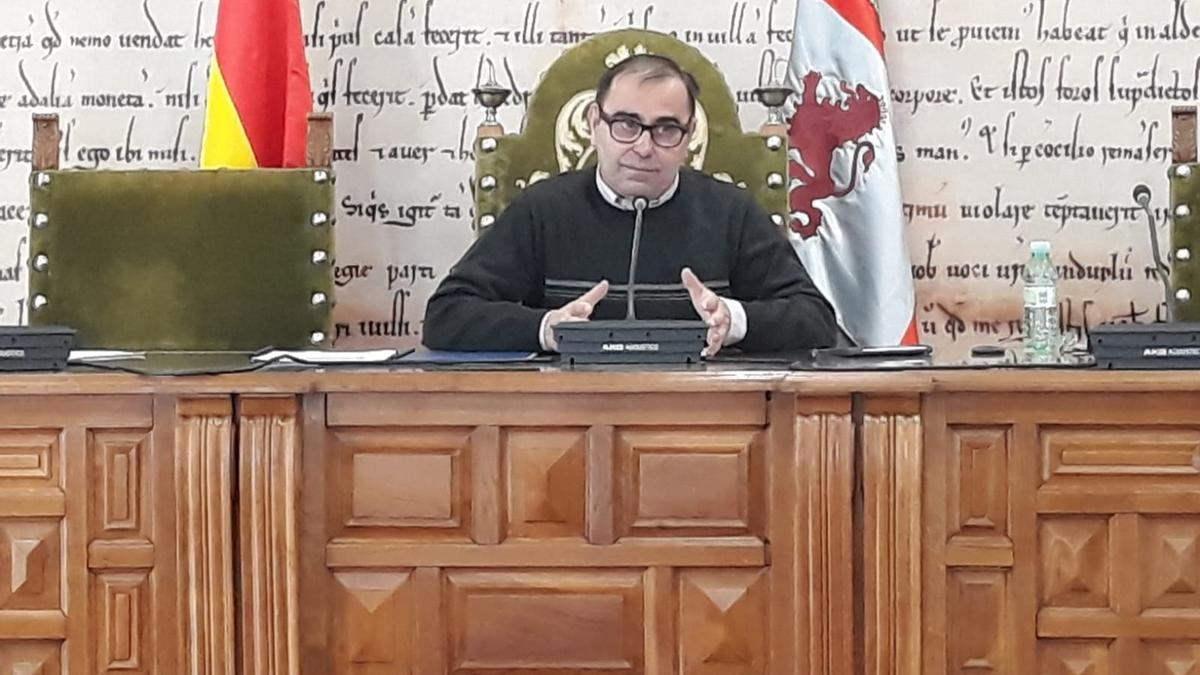 El concejal de Administración Interior, Fernando Marcos.