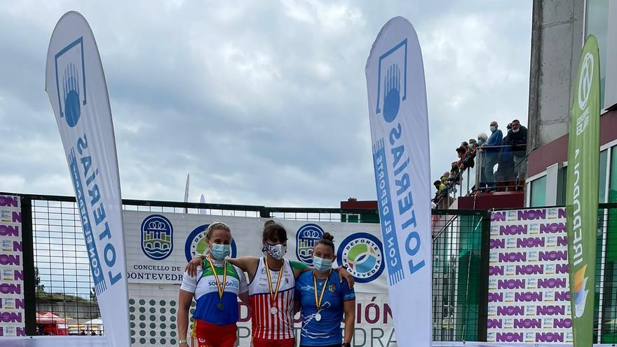 Tres platas y tres bronces para Zamora en el Campeonato de España de Sprint en Verducido