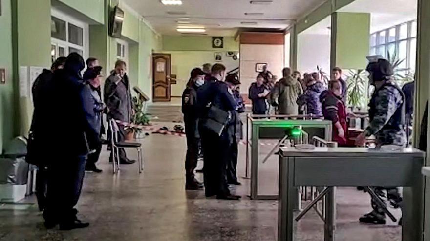 Almenys 6 morts en un tiroteig en una universitat de Rússia