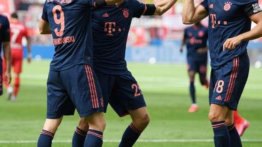 El Bayern da otro paso hacia el título con una reacción de campeón