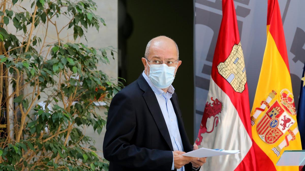 Igea, durante la rueda de prensa de hoy.