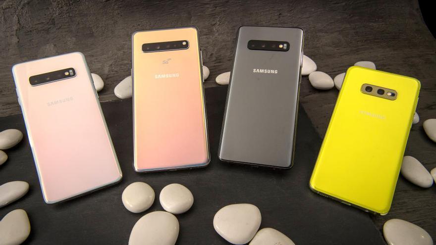 Galaxy S10 y S10 Plus: dos modelos con cinco cámaras