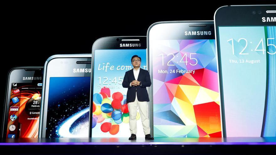 La pantalla plegable que planea fabricar Samsung