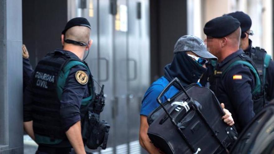 El juez interrogará el jueves a los siete CDR detenidos