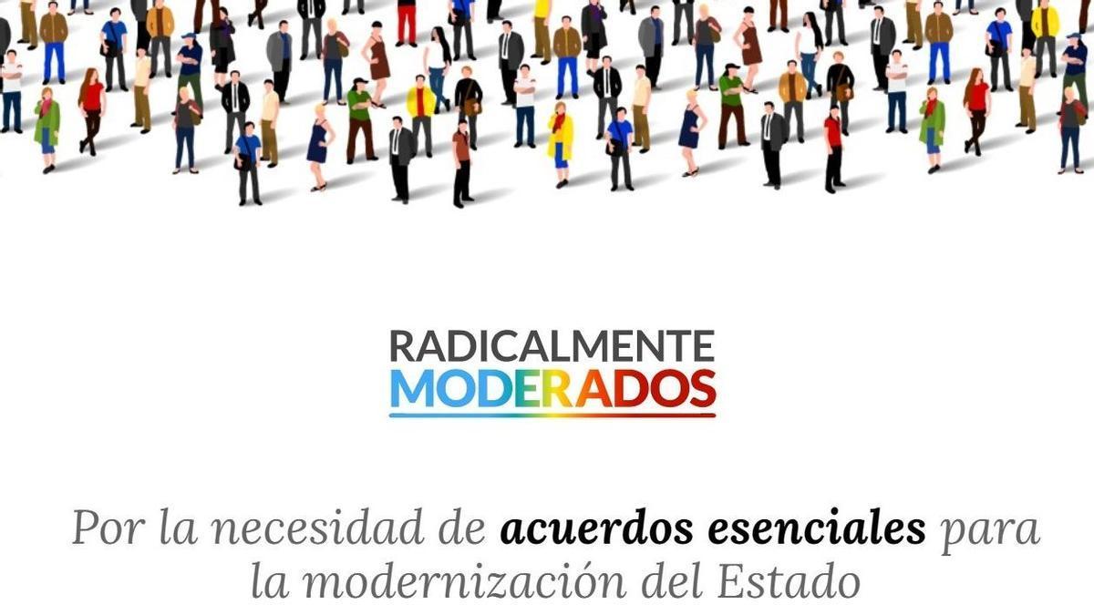 Web de 'Radicalmente moderados'.