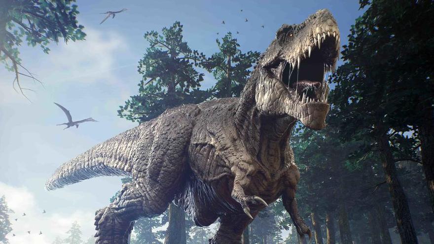El Tiranosaurio Rex daba el estirón en la adolescencia