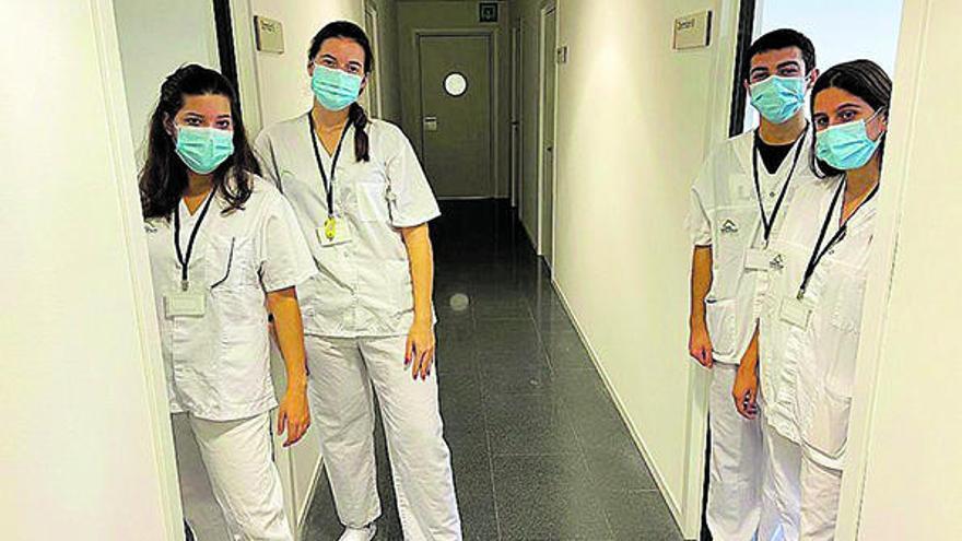 Comencen les pràctiques del grau en Medicina a l'hospital d'Olot