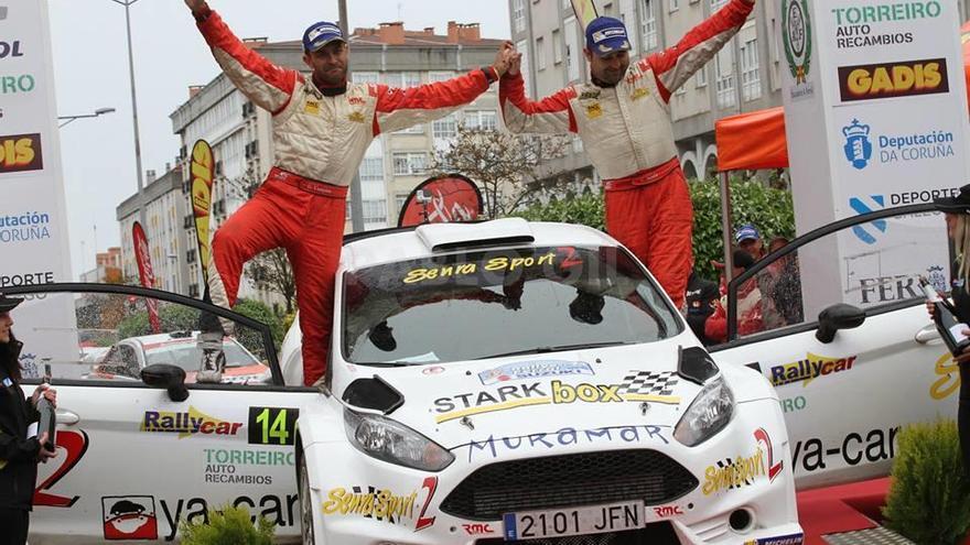 Víctor Senra y David Vázquez disputarán el Campeonato Gallego con un Ford Fiesta R5