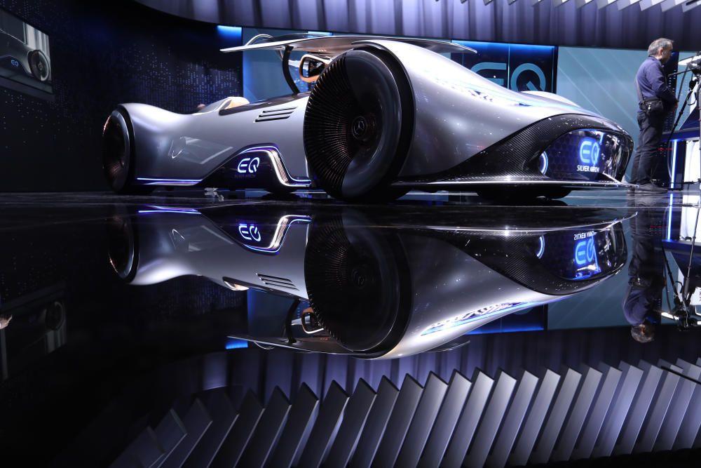 El modelo Mercedes-Benz EQ Silver Arrow.