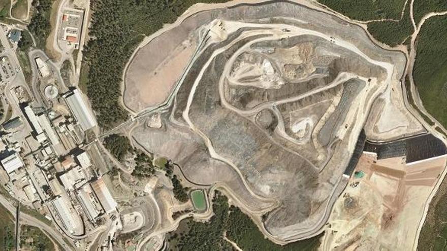El Govern haurà de fer un primer canvi al Pla Director de la Mineria pel dipòsit de Súria
