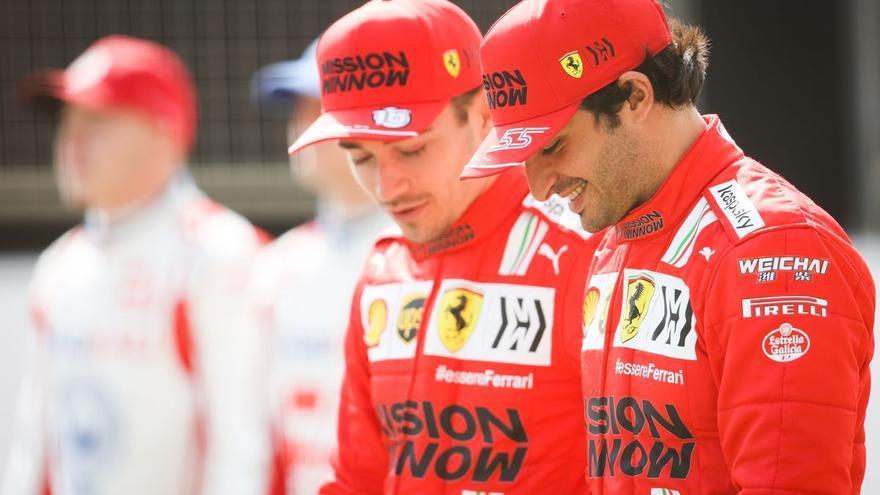 """Sainz: """"De inicio, tengo mucho que aprender de Leclerc"""""""