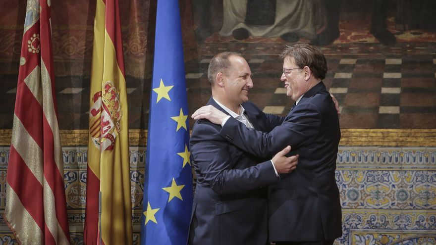 """Puig agradece la actitud y el trabajo de Martínez Dalmau: """"Has sido una parte fundamental"""""""