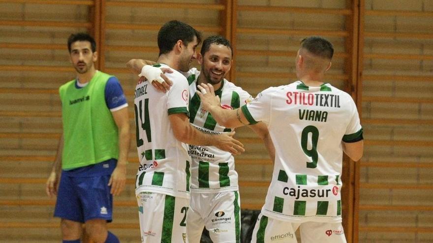El Córdoba Futsal logra una victoria con mensaje