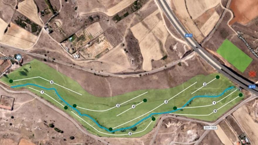 Zamora tendrá su campo de golf en las praderas de Valderrey