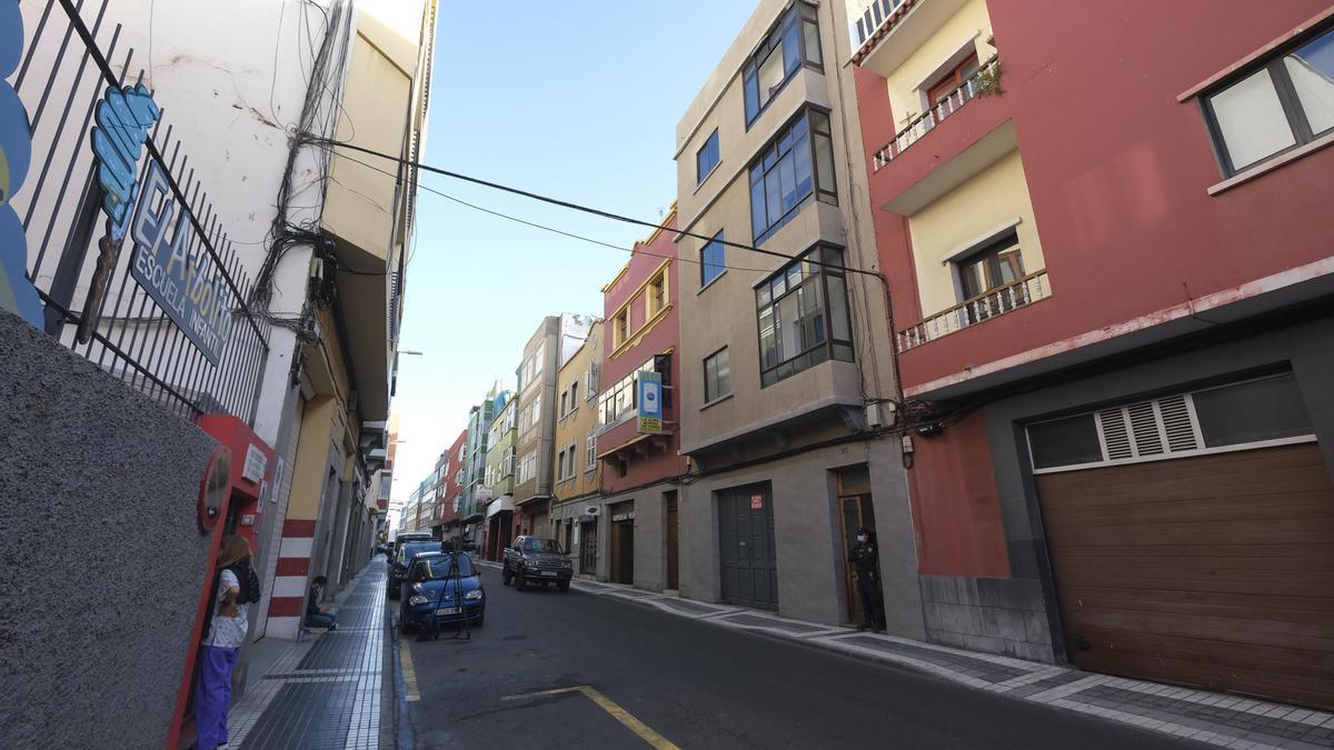 Zona de Las Palmas de Gran Canaria en la que se cometió el doble asesinato.