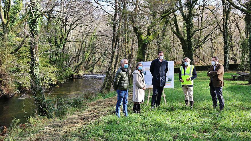 Augas de Galicia restaurará 18 kilómetros de bosque de ribera del Umia con una inversión de 200.000 euros