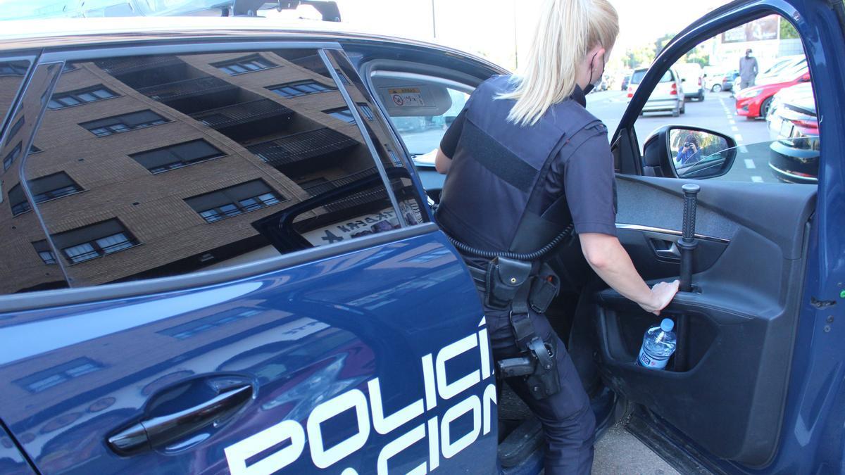 Agente de Policía en imagen de archivo