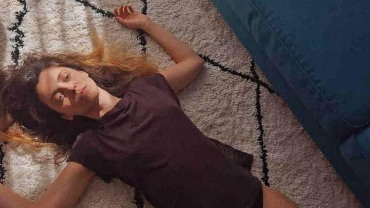 Leticia Dolera, que ha rodado a solas en su domicilio para HBO una de las historias de 'En Casa'.