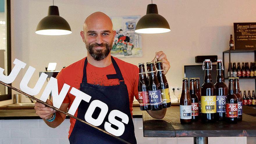 Besonderes Bier auf Mallorca: Marke Eigenbräu in Bunyola