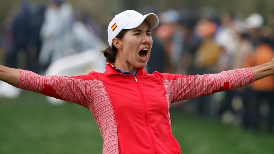 Carlota Ciganda hace historia tras ganar en Corea