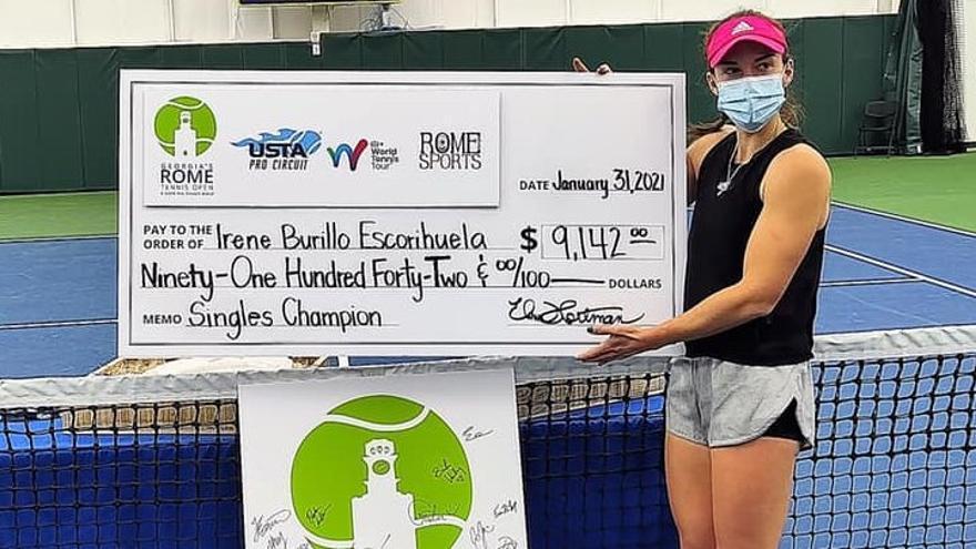 Irene Burillo jugará la previa de Wimbledon