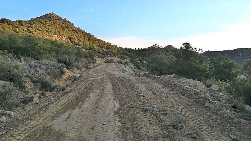 Mejora de los caminos en La Bardena y La Marcuera
