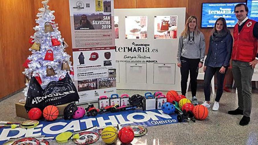 Hércules Termaria colabora con Cruz Roja