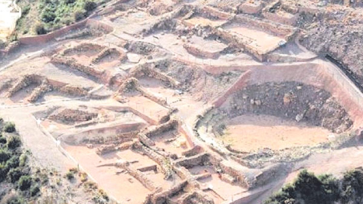 Yacimiento arqueológico de La Bastida, Totana.