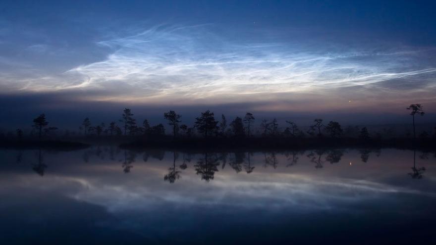 ¿Qué son las nubes noctilucentes vistas en España?