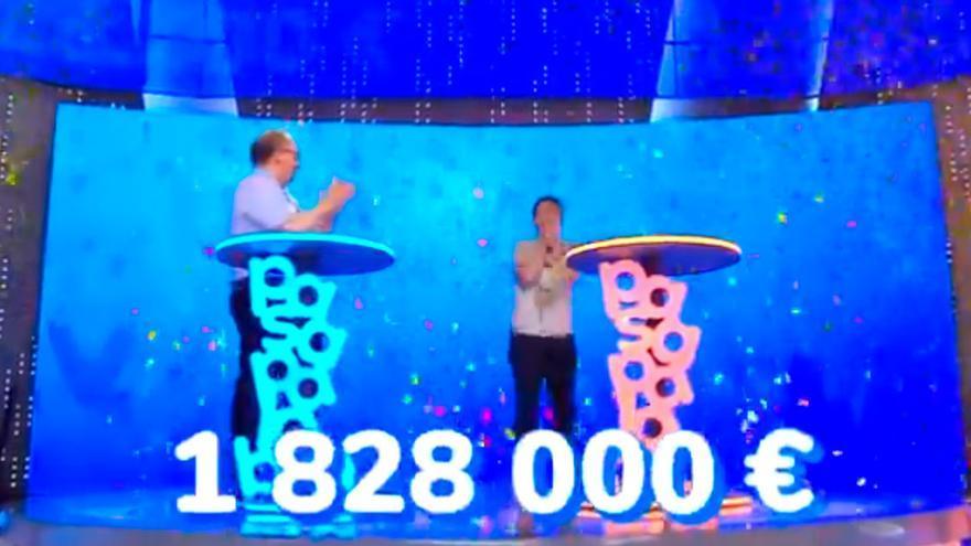 Desvelan la cantidad real que recibirá Pablo tras ganar el millonario bote de Pasapalabra