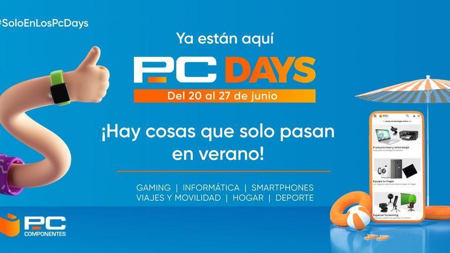 PcDays de PcComponentes te trae una semana de descuentos exclusivos con cientos de productos