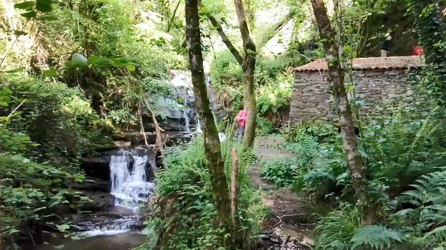 El sonido de paz de las cataratas de Silleda y Lalín
