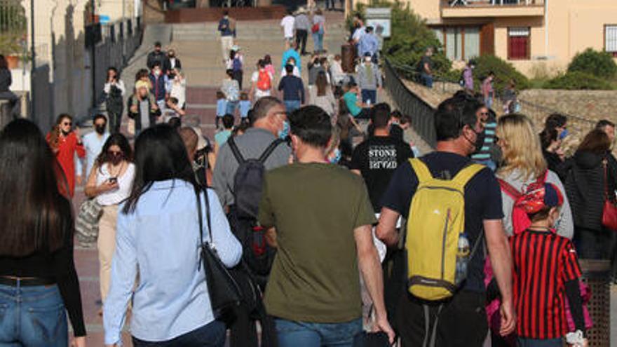 Palafrugell demana «responsabilitat» després de veure's «desbordada» de visitants