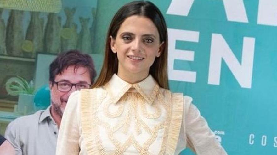 Macarena Gómez deslumbra con un conjunto de Teresa Helbig