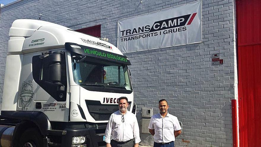 Transcamp compra un camió de transport de mercaderies de gas natural