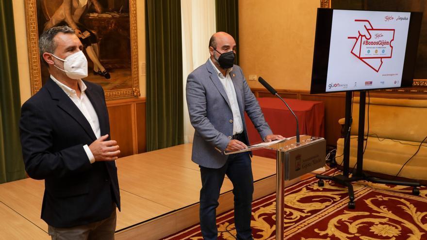 El Ayuntamiento lanza el programa de bonos para compras en establecimientos de Gijón