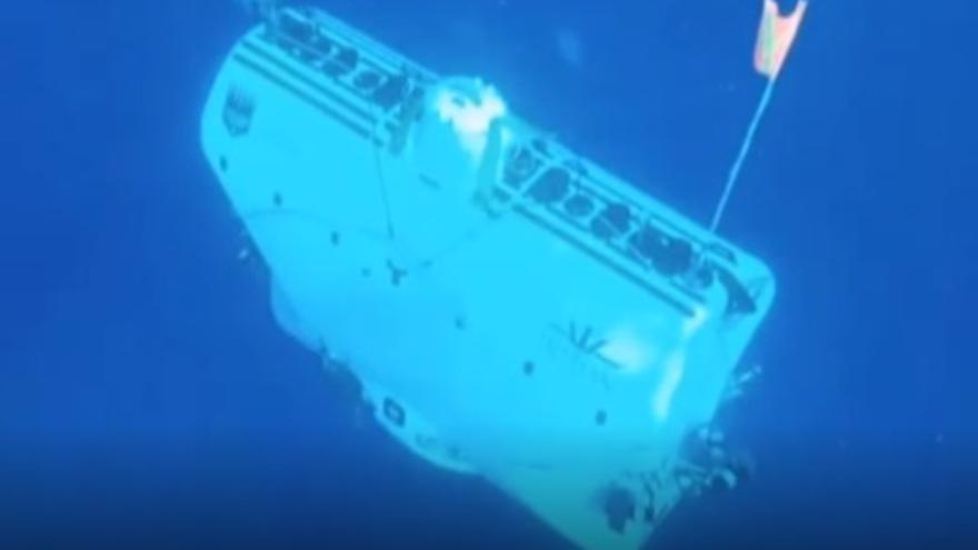 Los diez kilómetros de viaje submarino de un gallego
