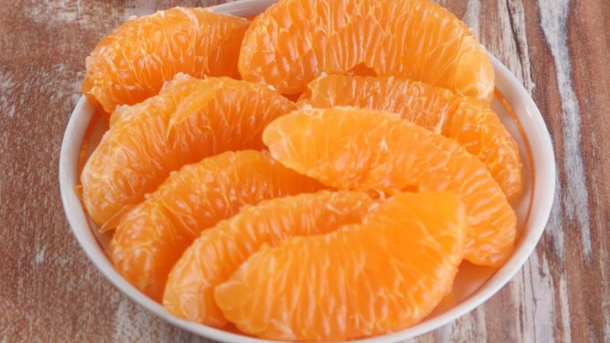 Mandarinas al licor