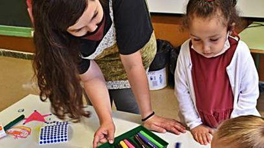 Alumnes a l'escola la Font | OSCAR BAYONA