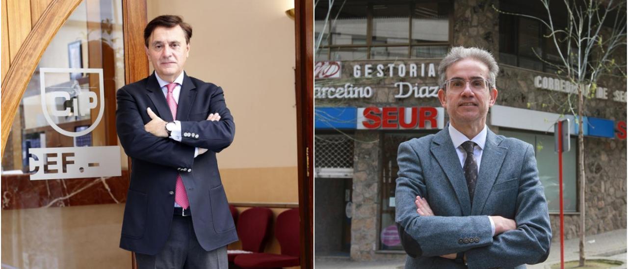 Pedro Rey Vera y José María Díaz Barreiros.