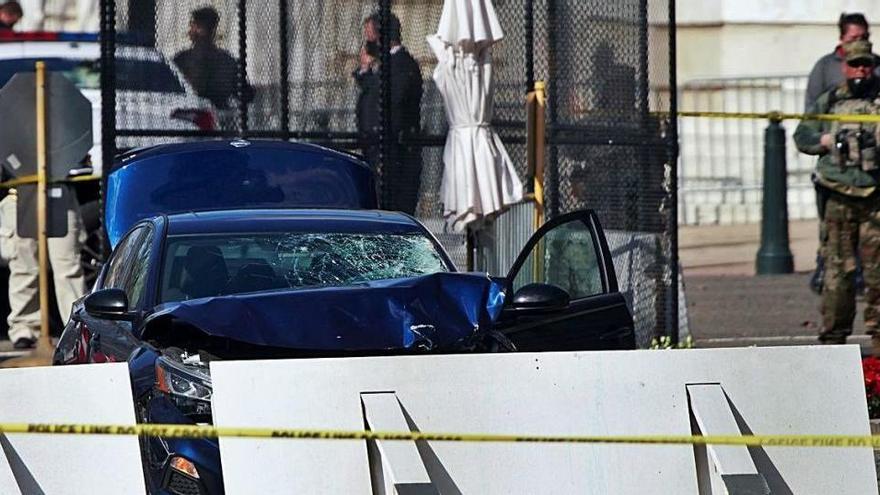 Un policia mor i un altre resulta ferit greu en un atropellament al Capitoli