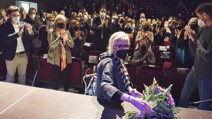 Sallent fa immortal Jordi Fàbregas, referent de la cultura d'arrel i tradicional