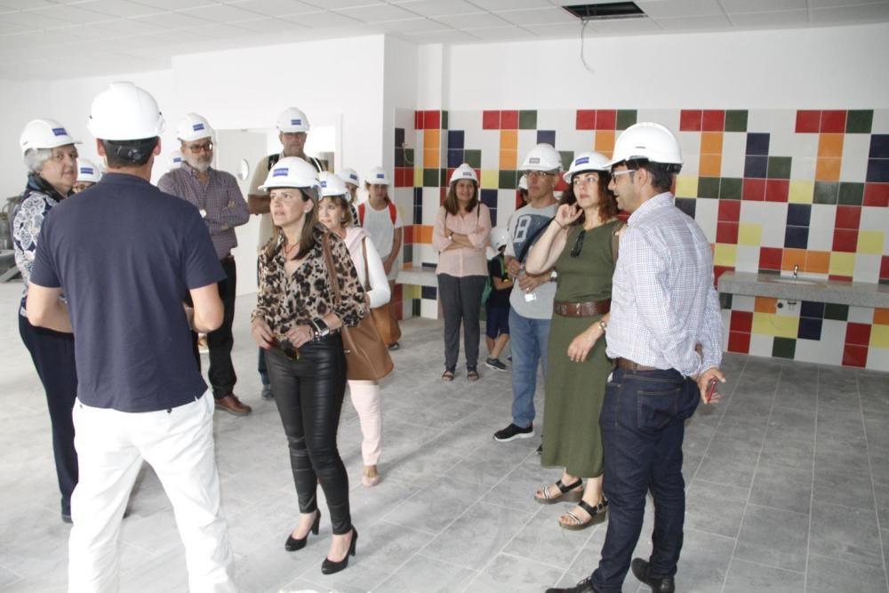 Visita al CEIP La Destila
