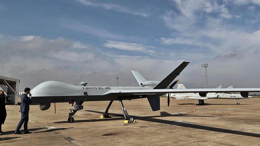 Todo listo para la instalación de una base de drones militares en Lanzarote