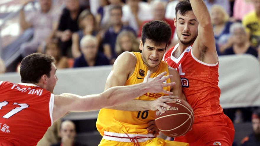 El Barcelona Lassa se estrena con una victoria ante el ICL Manresa