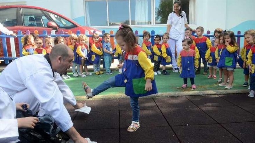 El Olímpic inaugura la semana del deporte en la escuela infantil municipal
