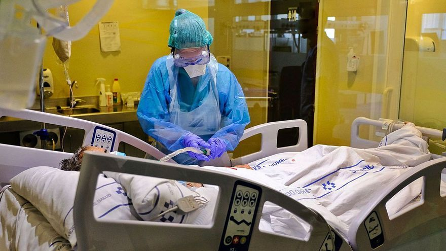 La presión hospitalaria muestra su mayor caída desde el confinamiento